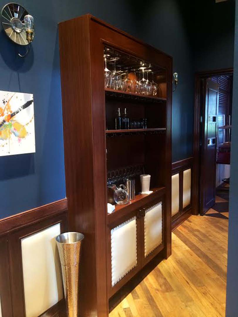 Wine Glass Shelf